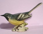 Click here to enlarge image and see more about item a05198: Beswick Bird #1041 Grey Wagtail
