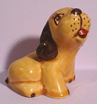 Click here to enlarge image and see more about item a05234: 1940s Walker Pottery Puppy Dog
