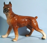 1950s/1960s Japan Ceramic Boxer Dog