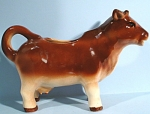 Click here to enlarge image and see more about item a05293: Occupied Japan Cow Creamer