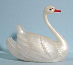 Light Plastic Miniature Swan Dish, Toothpick? Q-tips?