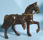 1960s Cast Pot Metal Western Horse