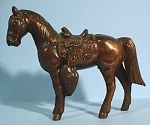 Click to view larger image of 1960s Pot Metal Western Horse (Image1)