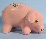 1940s/1950s Miniature Pottery Pig