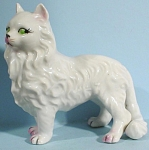 1950s Japan Porcelain Persian Cat