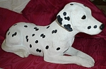 Click here to enlarge image and see more about item a05477: Large Sandicast Dalmatian