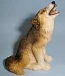 Click here to enlarge image and see more about item a05523: Castagna Miniature Howling Wolf