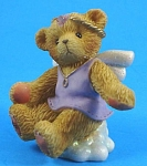 Click here to enlarge image and see more about item a05575m: Enesco Cherished Teddies Angel Bear