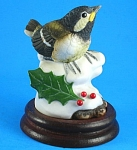 Andrea  by Sedak 1990 Porcelain Chickadee