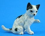 Miniature Bone China Cat