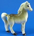 Click here to enlarge image and see more about item a05889: Miniature Japan Bone China Horse