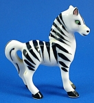 Miniature Japan Bone China Zebra