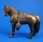 Click to view larger image of 1940s/1950s Pot Metal Western Horse (Image1)
