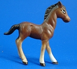 Click to view larger image of Miniature Bone China Horse Foal (Image1)
