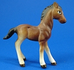 Miniature Bone China Horse Foal