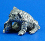 Click here to enlarge image and see more about item a05963m: CAT Designs Miniature Pewter Bulldog