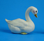 Click here to enlarge image and see more about item a06019: Josef Original Miniature Swan