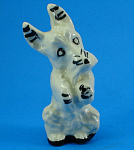 Click here to enlarge image and see more about item a06021: Stangl Art Pottery Begging Terrier Dog