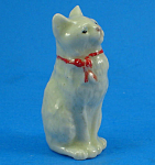 1920s/1930s Miniature Porcelain Cat