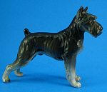 Click here to enlarge image and see more about item a06030: Lefton Schnauzer Dog