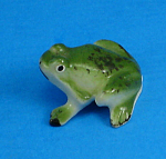 Tiny Bone China Miniature Frog
