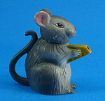 Click to view larger image of Cute Small Ceramic Mouse Teapot (Image1)