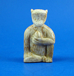 Click to view larger image of Carved Soapstone Monkey (Image1)