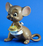 Click here to enlarge image and see more about item a06081: Josef Original Mother Mouse with Birthday Cake