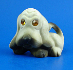 Click here to enlarge image and see more about item a06088: Small Roselane Sparkler Basset Hound Puppy Dog