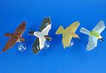 Click to view larger image of Kaiyodo Furuta Choco Egg Miniature Birds, 4 pieces (Image1)