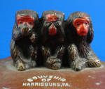 Click to view larger image of Morality Monkey Souvenir Blotter (Image2)