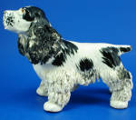 Click to view larger image of 1950s Arnart Pottery Spaghetti Cocker Spaniel (Image1)