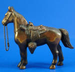 Click to view larger image of 1940s/1950s Pot Metal Western Horse (Image2)