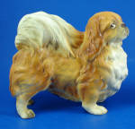 Click here to enlarge image and see more about item a06321: Lefton Pekingese Dog