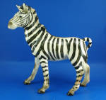 Click here to enlarge image and see more about item a06343: 1950s Pottery Zebra