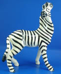 Click here to enlarge image and see more about item a06346: Robert Simmons Large Zebra Named Zag