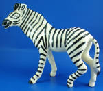 Click here to enlarge image and see more about item a06347: Robert Simmons Large Zebra Named Zig