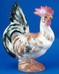 Click here to enlarge image and see more about item a06399: Brad Keeler Pottery Rooster