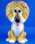 Click to view larger image of 1960s/1970s Ceramic Lion Bank (Image1)
