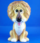 1960s/1970s Ceramic Lion Bank