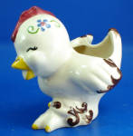 Click to view larger image of California Ross Pottery Chicken Planter (Image2)