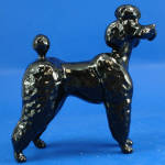 Click here to enlarge image and see more about item a06423: Beswick Black Poodle