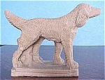 Click here to enlarge image and see more about item aa00134: 1930s Setter Dog