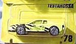 Click here to enlarge image and see more about item d00038C: Matchbox #78 Lime Testarossa