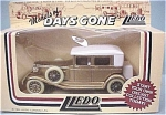 Click here to enlarge image and see more about item d00290: Lledo Days Gone DG19 - Golden Touring Car