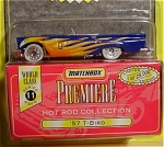 Matchbox Premiere, 1997, Series 11, '57 T-Bird