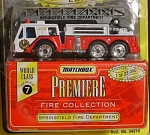 Click here to enlarge image and see more about item d00451: Matchbox Premiere Series 7 Springfield Fire Dept.
