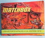 1972 Matchbox Collector's Catalog, US edition