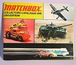 Click here to enlarge image and see more about item d00523: 1974 Matchbox Collector's Catalog