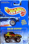 Click here to enlarge image and see more about item d00546: HotWheels Gulch Stepper #251, black